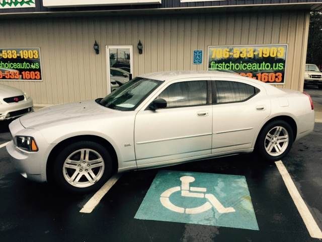 2006 DODGE CHARGER SE 4DR SEDAN silver buy here pay here abs - 4-wheel airbag deactivation - occ