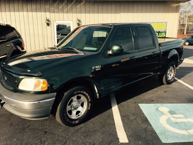 2001 FORD F-150 SUPERCREW green buy here pay here -  we finance  -  we make buying easy 126887