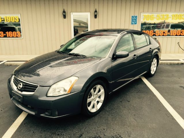 2008 NISSAN MAXIMA SE grey buy here pay here air conditioning power windows power locks power