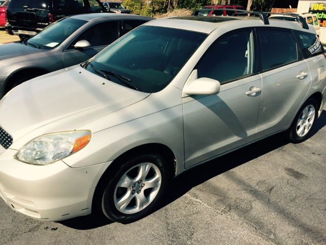2003 TOYOTA MATRIX XR 4DR WAGON silver cash only on this one center console clock daytime runni