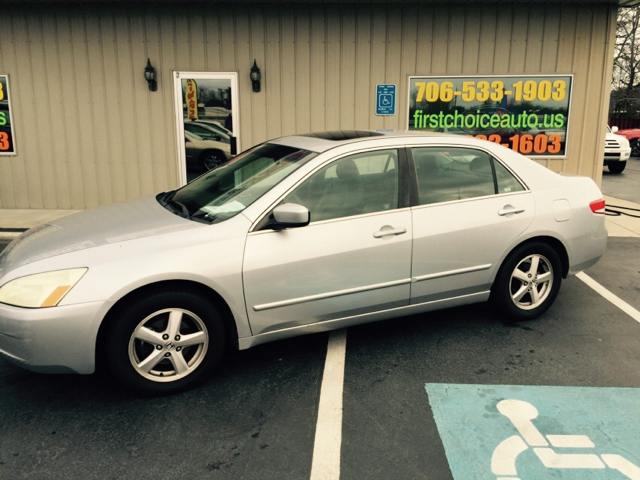 2003 HONDA ACCORD EX WLEATHER 4DR SEDAN silver buy here pay here abs - 4-wheel anti-theft syste