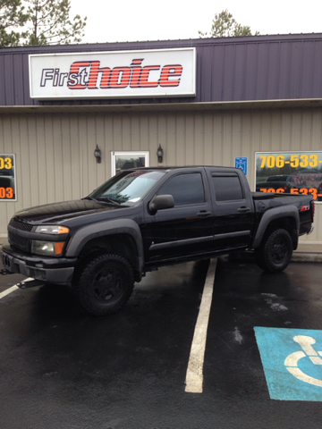 2007 CHEVROLET COLORADO LT 4DR CREW CAB SB black buy here pay here 2-stage unlocking - remote abs