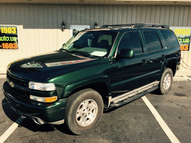 2003 CHEVROLET TAHOE 1500 green buy here and pay her at wwwfirstchoiceautous 155552 miles VIN