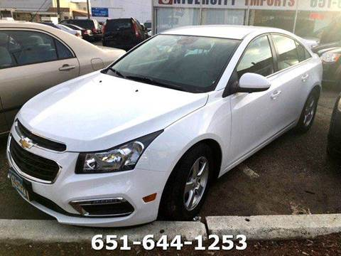 2015 Chevrolet Cruze for sale in Saint Paul, MN