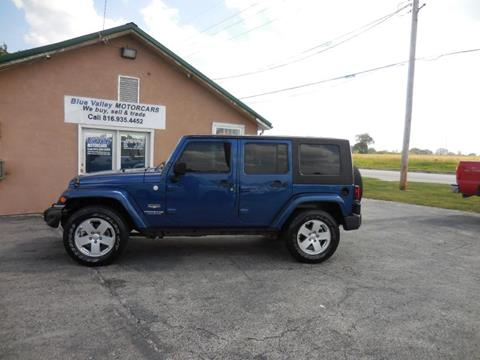 2010 Jeep Wrangler Unlimited for sale in Stilwell, KS