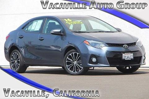2016 Toyota Corolla for sale in Vacaville CA