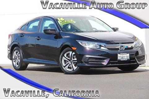 2016 Honda Civic for sale in Vacaville, CA