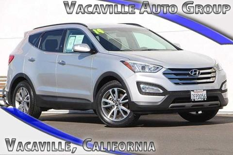 2014 Hyundai Santa Fe Sport for sale in Vacaville CA