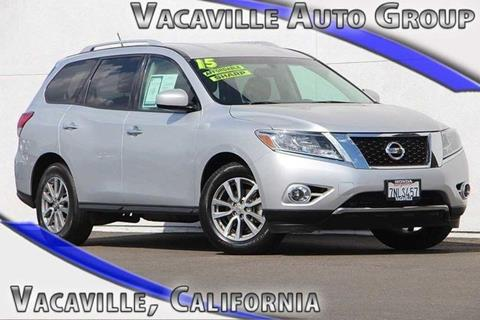 2015 Nissan Pathfinder for sale in Vacaville CA