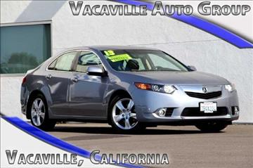 2013 Acura TSX for sale in Vacaville, CA