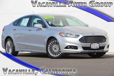 2013 Ford Fusion for sale in Vacaville CA