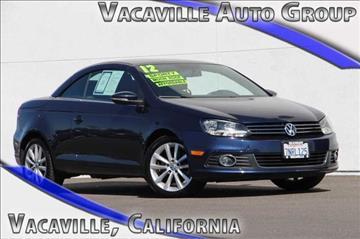 2012 Volkswagen Eos for sale in Vacaville, CA