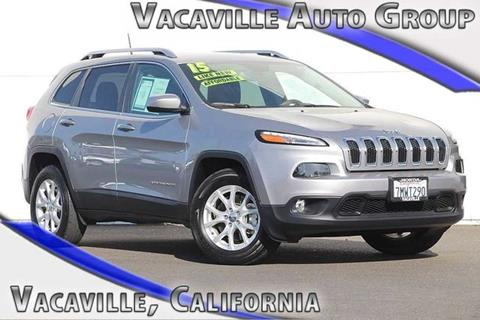 2015 Jeep Cherokee for sale in Vacaville CA