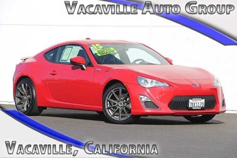 2015 Scion FR-S for sale in Vacaville, CA