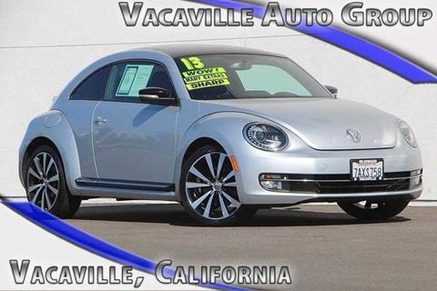 2013 Volkswagen Beetle for sale in Vacaville, CA