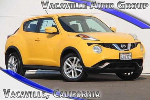 2015 Nissan JUKE for sale in Vacaville CA