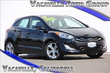 2013 Hyundai Elantra GT for sale in Vacaville, CA