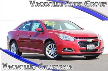 2014 Chevrolet Malibu for sale in Vacaville, CA