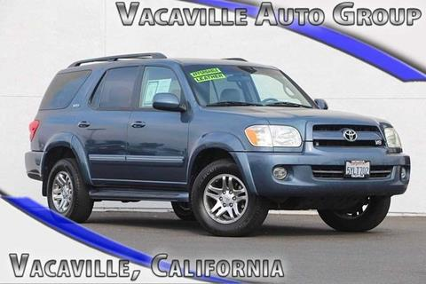 2007 Toyota Sequoia for sale in Vacaville CA