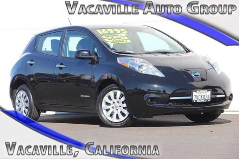 2016 Nissan LEAF for sale in Vacaville CA
