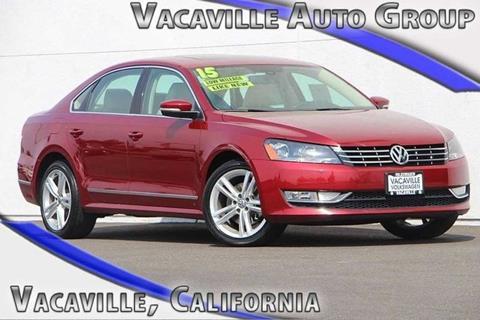 2015 Volkswagen Passat for sale in Vacaville, CA