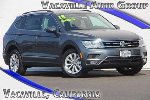 2018 Volkswagen Tiguan for sale in Vacaville, CA