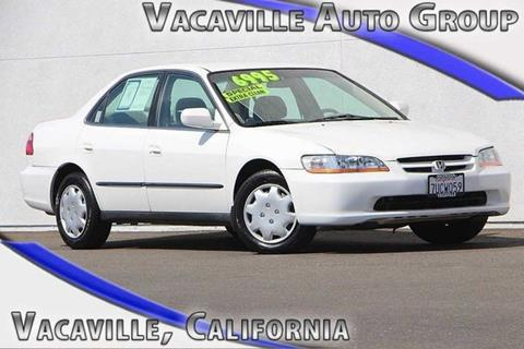2000 Honda Accord for sale in Vacaville, CA