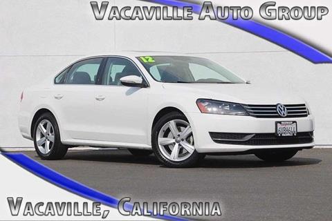 2012 Volkswagen Passat for sale in Vacaville CA