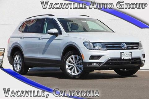 2018 Volkswagen Tiguan for sale in Vacaville CA