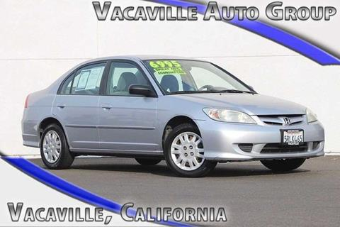 2005 Honda Civic for sale in Vacaville, CA