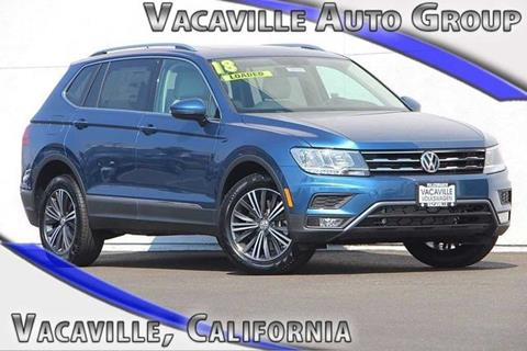 2018 Volkswagen Tiguan for sale in Vacaville, CA