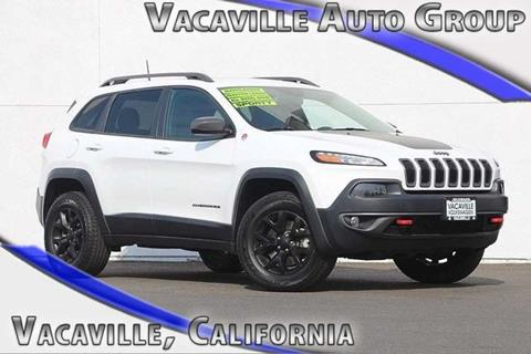 2016 Jeep Cherokee for sale in Vacaville CA