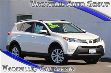 2013 Toyota RAV4 for sale in Vacaville, CA