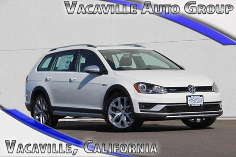 2017 Volkswagen Golf Alltrack for sale in Vacaville CA