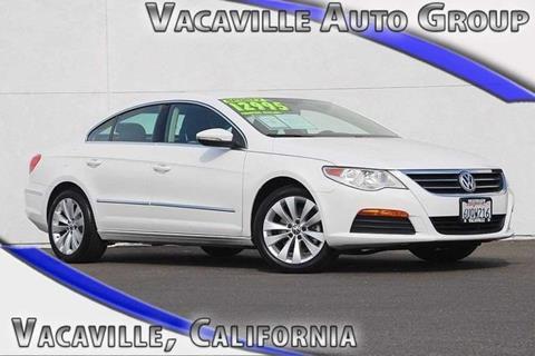 2012 Volkswagen CC for sale in Vacaville CA