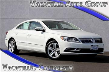 2016 Volkswagen CC for sale in Vacaville, CA