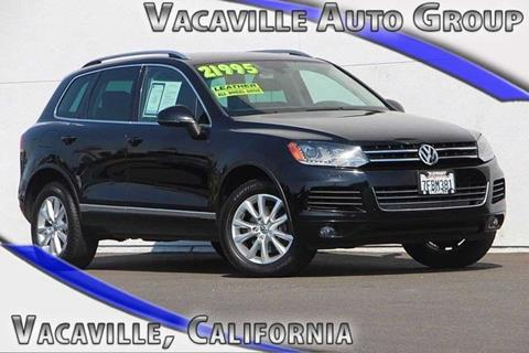 2013 Volkswagen Touareg for sale in Vacaville, CA