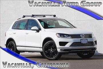 2017 Volkswagen Touareg for sale in Vacaville, CA