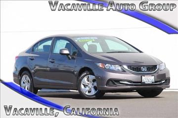 2013 Honda Civic for sale in Vacaville, CA