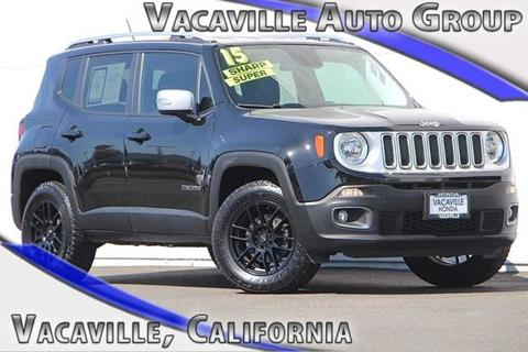 2015 Jeep Renegade for sale in Vacaville CA