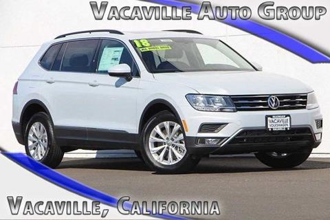 2018 Volkswagen Tiguan for sale in Vacaville CA