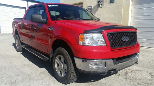 2004 FORD F-150 FX4 4DR SUPERCREW 4WD STYLESIDE unspecified abs - 4-wheel axle ratio - 355 clo