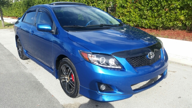 2010 TOYOTA COROLLA S 4DR SEDAN 4A blue for more information call 7542094668  3059280701 or text