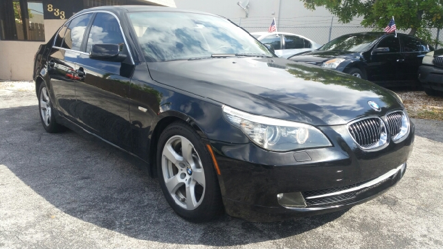 2008 BMW 5 SERIES 535I 4DR SEDAN LUXURY black abs - 4-wheel active head restraints - dual front