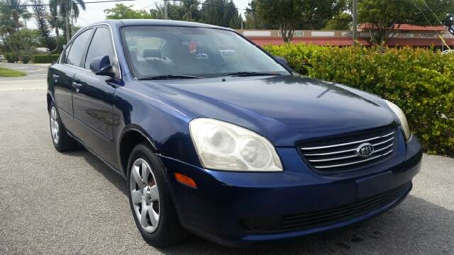 2006 KIA OPTIMA LX NEW 4DR SEDAN 24L I4 5A blue this a nice sedan very comfortable  to drive c