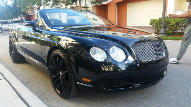 2008 BENTLEY CONTINENTAL GTC BASE AWD 2DR CONVERTIBLE black for more information call 3059280701