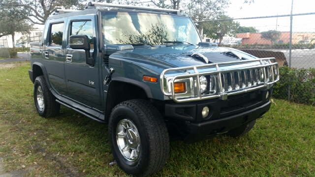 2005 HUMMER H2 SUT BASE 4WD 4DR CREW CAB SB PICKUP blue abs - 4-wheel anti-theft system - alarm