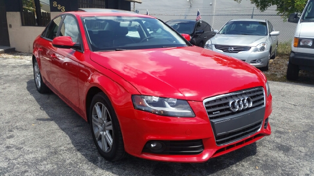 2010 AUDI A4 20T QUATTRO PREMIUM AWD 4DR SED red 2-stage unlocking doors 4wd type - full time