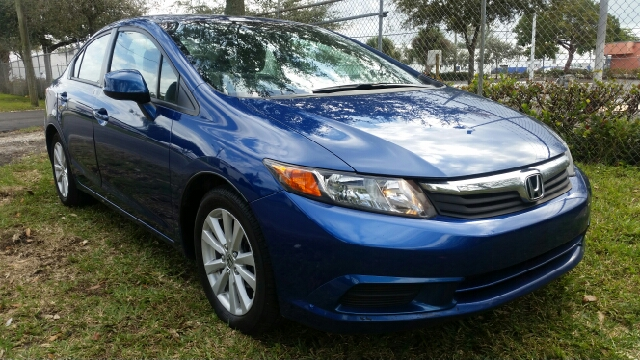 2012 HONDA CIVIC EX 4DR SEDAN blue for more information call 3059280701 or text me for a better r