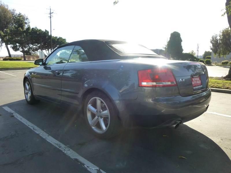 2007 Audi A4 3.2 quattro AWD 2dr Convertible (3.1L V6 6A) - Hayward CA